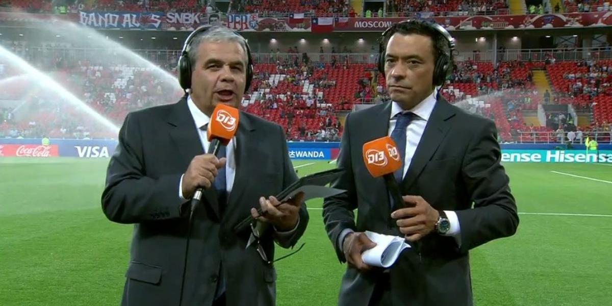 Canal 13 triunfa con las transmisiones en el debut de La Roja en la Copa Confederaciones