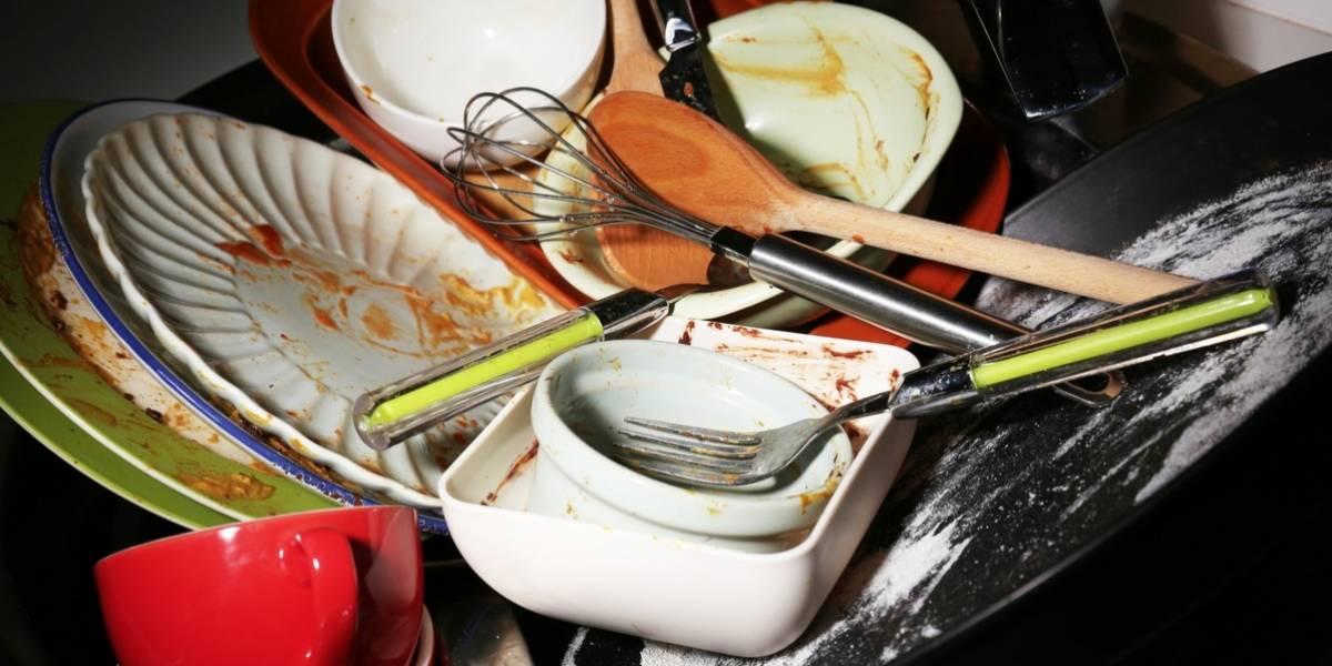 Argelia escribió su nombre en el Libro Guinness de los Récord por lavar platos