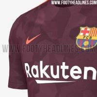 Tercer uniforme Barcelona