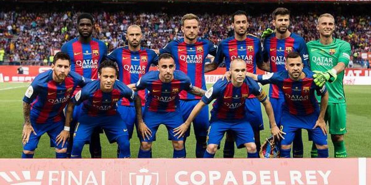 Barcelona tendría nuevo diseño alternativo en su tercer uniforme