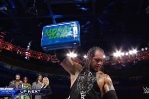 Baron Corbin, Carmella y Jinder Mahal: los dueños de la noche en WWE Money In The Bank