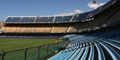 Así se mueven las paredes del estadio del Boca Juniors