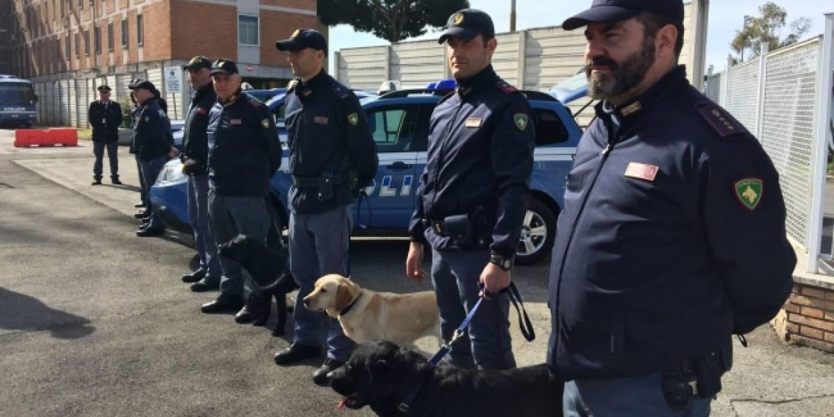 Policía italiana arresta a presunto terrorista