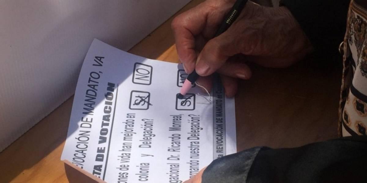 Denuncian irregularidades en consulta sobre salida de Monreal de la Cuauhtémoc