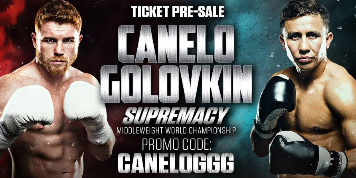 Boletos para Canelo vs. Golovkin costarán más de 400 mil pesos