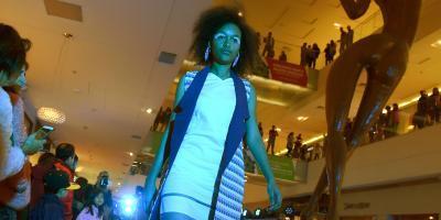 Desarmar para crear: el desfile de modas que se realizó con telas recicladas