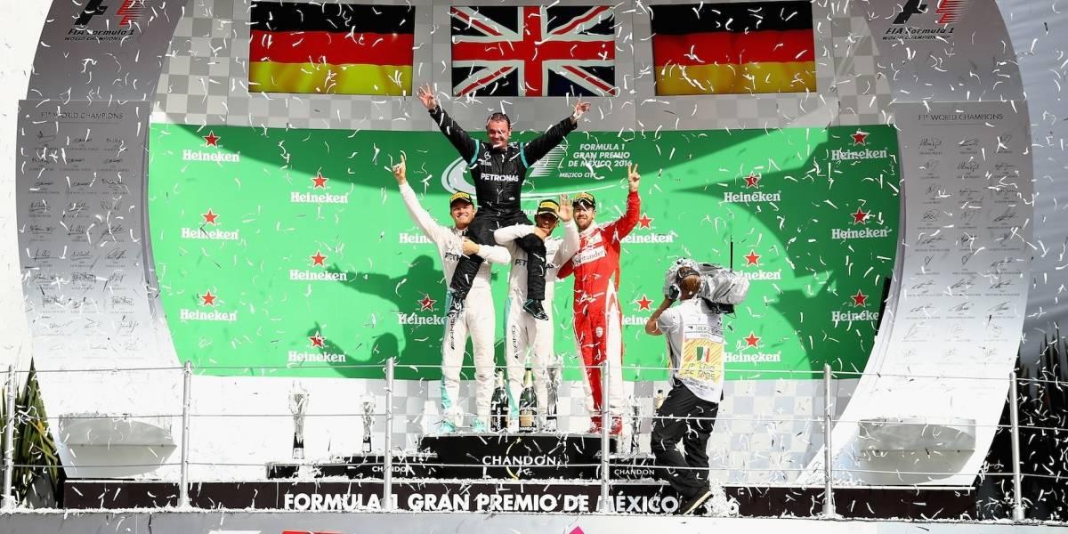 FIA revela fecha para el GP de México 2018