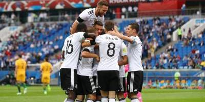 Alemania se impone 3-2 a Australia en Confederaciones