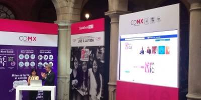 #DaleLikeALaVida, pide CDMX a jóvenes
