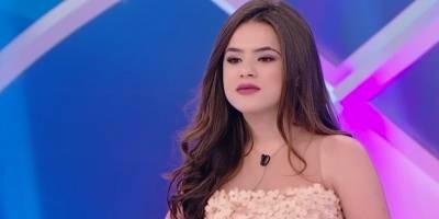 'Não estou aqui para arrumar namorado', diz Maisa a Silvio Santos