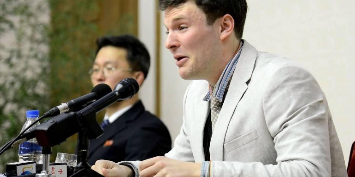 Muere estudiante estadounidense liberado por Corea del Norte que se encontraba en coma