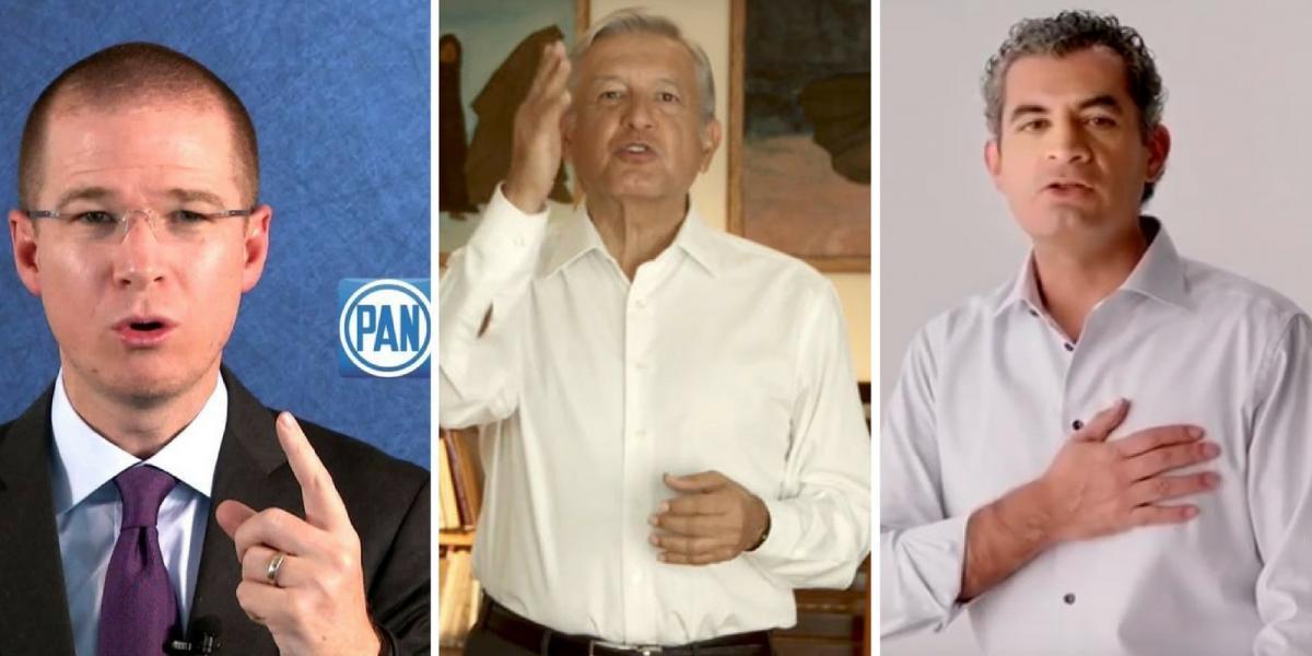 INE alista reglas para spots de líderes de partidos