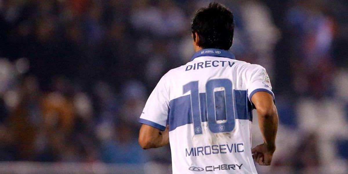 El Milo aún no se va: Mirosevic jugará otros seis meses en la UC