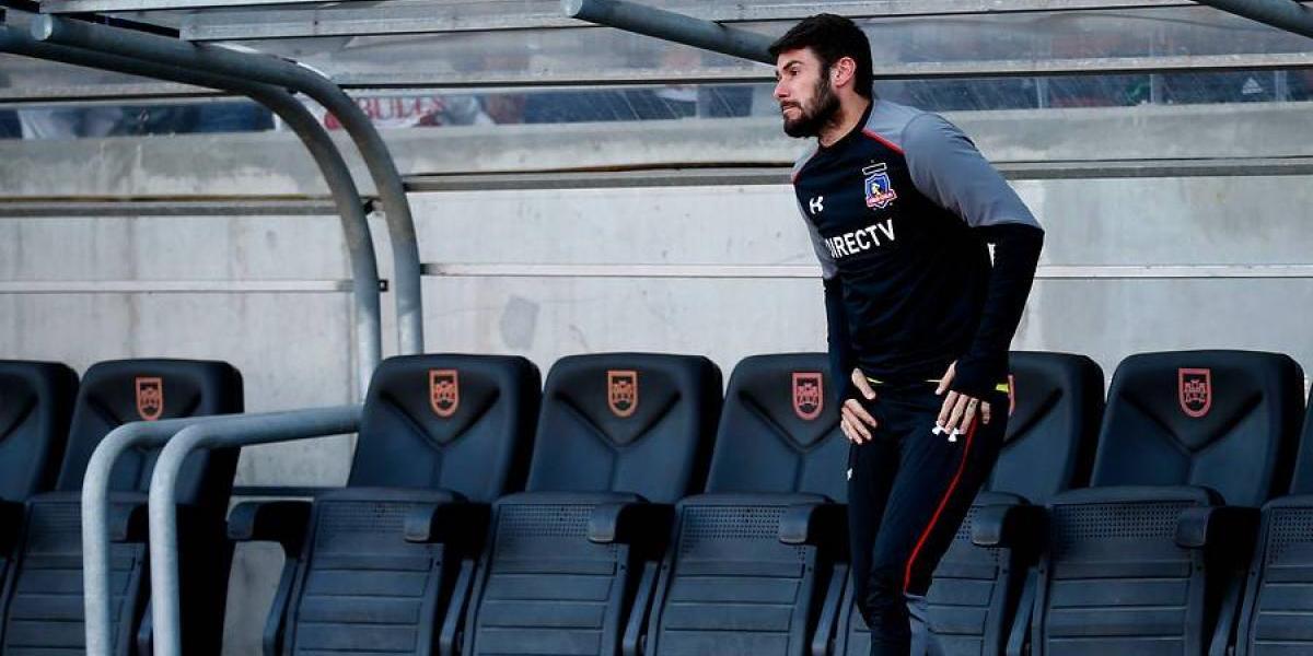 """Paulo Garcés """"se da por vencido"""" y no apareció en la vuelta a las prácticas de Colo Colo"""