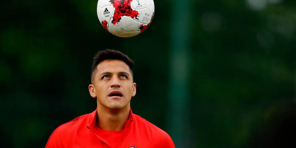 La Roja volvió a los entrenamientos con Bravo y Alexis en cancha
