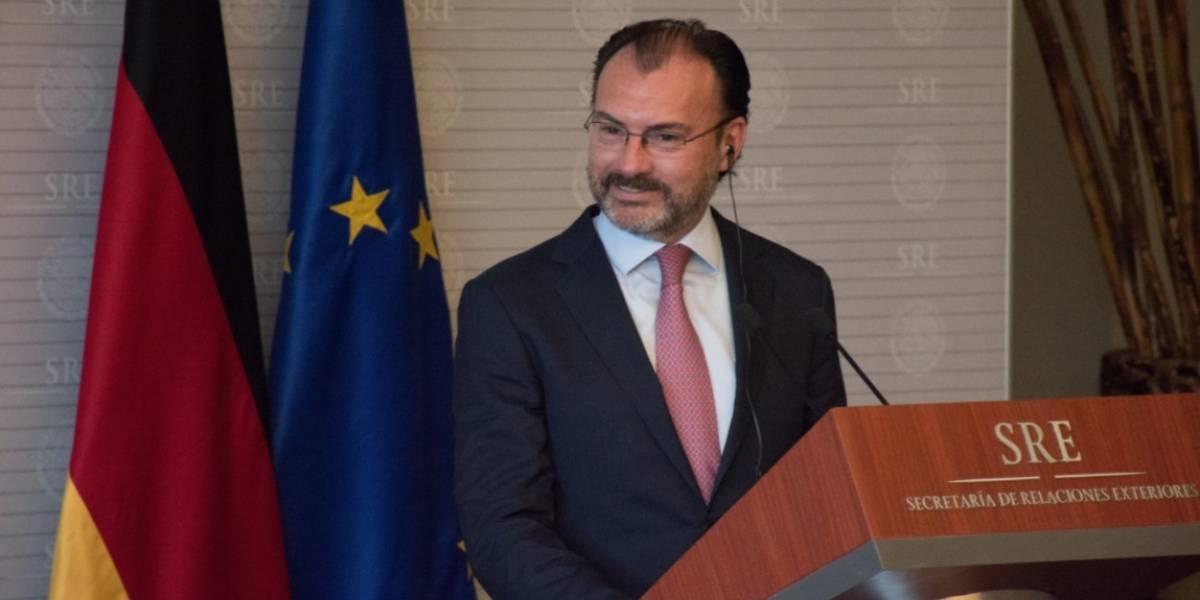 México y la OEA quieren ser facilitadores del diálogo en Venezuela: Videgaray