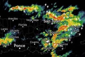 Tarde y noche lluviosa en la Isla