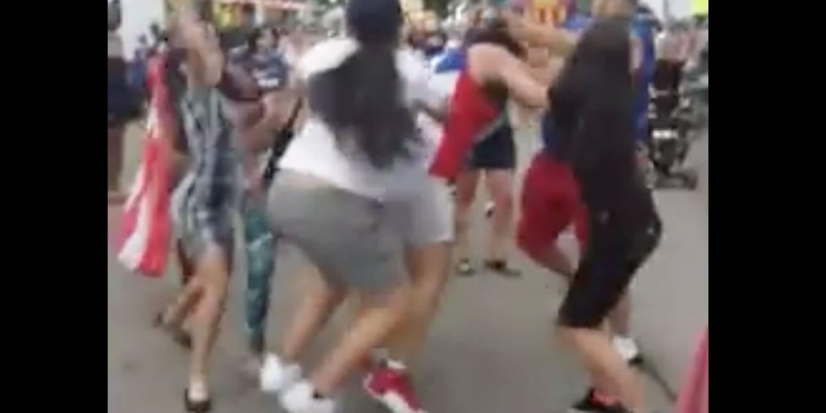 Boricuas protagonizan pelea en Festival Puertorriqueño en Chicago