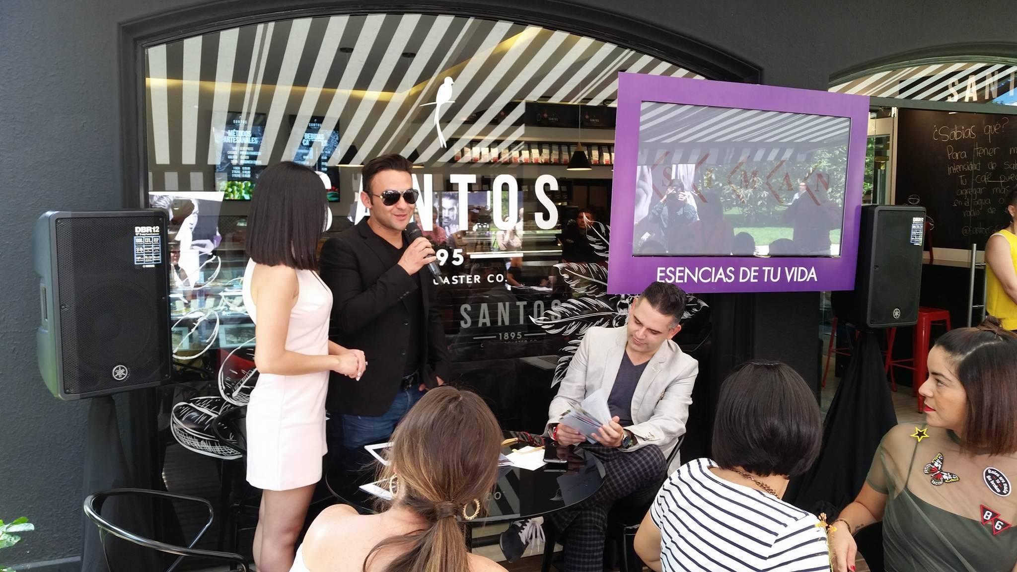 """Carlos Peña es uno de los representantes del festival """"Esencias de tu vida"""", de Siman. Foto: David Lepe Sosa"""