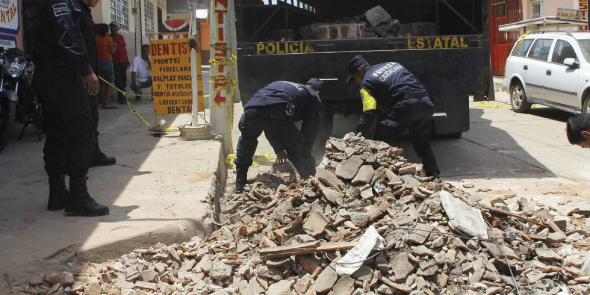 Declaran emergencia en siete municipios de Chiapas tras sismo