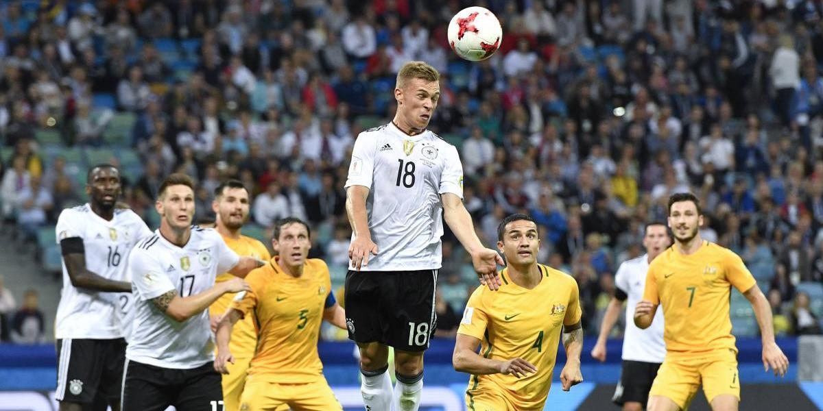 Alemania supera juego errático para vencer a Australia