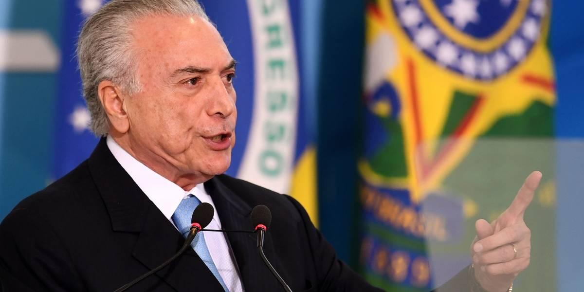 Temer en picada contra magnate de las carnes en Brasil: lo demandará por calumnias
