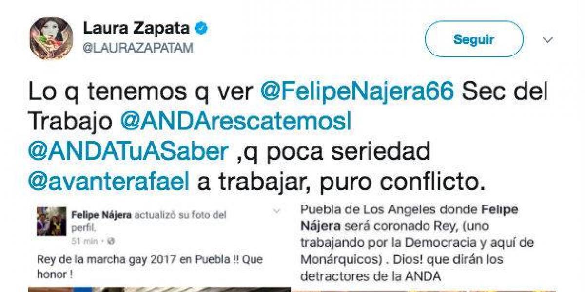 'Lo que tenemos que ver', Laura Zapata exhibe en Twitter a hija de familia homoparental
