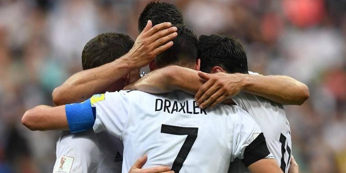 Alemania presenta a sus estrellas del mañana en la Copa Confederaciones
