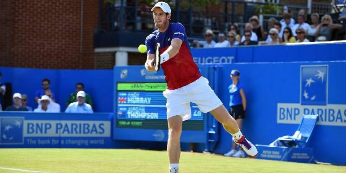 Murray no levanta en 2017: cae ante el 90º de la ATP en su debut de la temporada de pasto