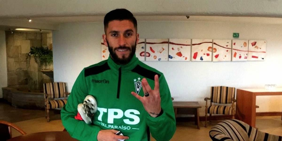 Marco Medel se convirtió en el séptimo fichaje del Wanderers de Nico Córdova