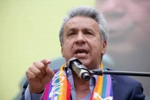 Lenín Moreno indultó a seis indígenas