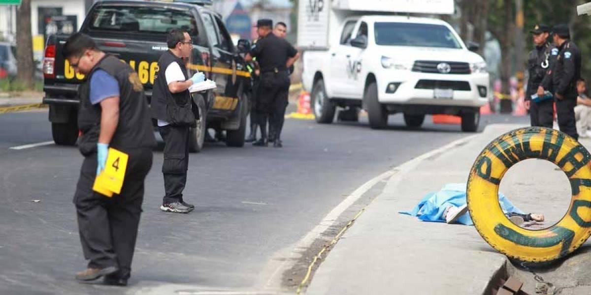Ataque armado en zona 17 deja un muerto y heridos