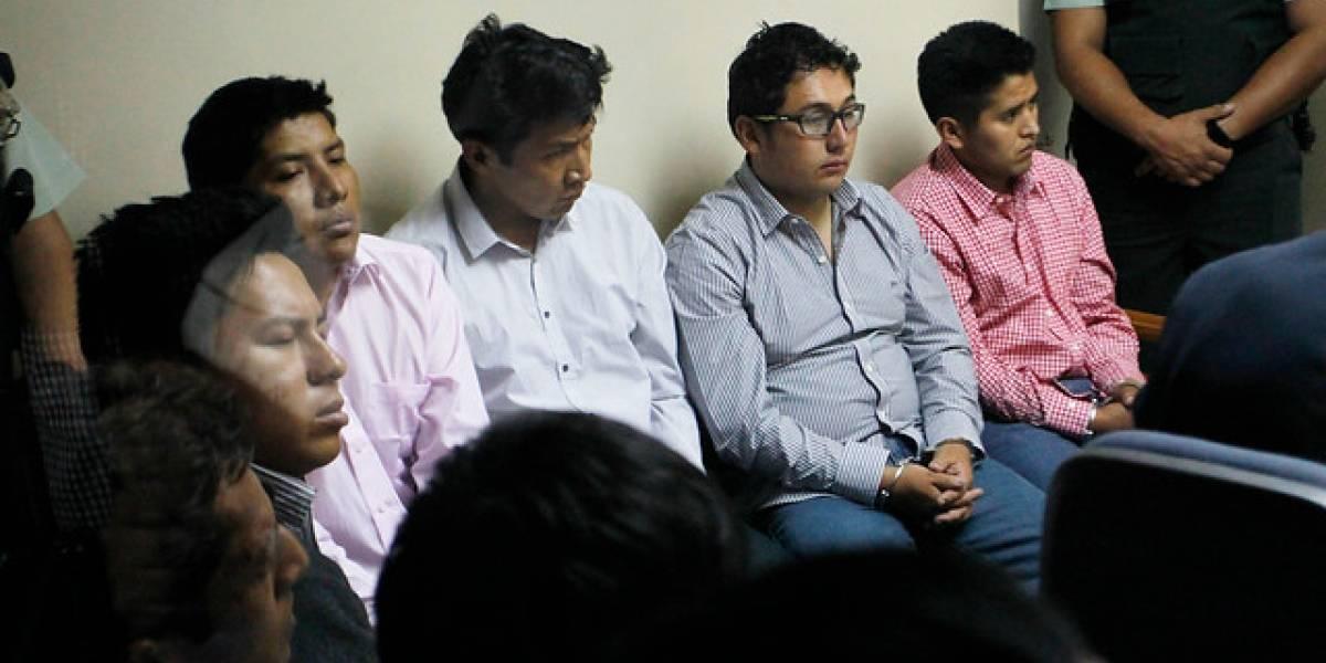 Bolivianos detenidos aceptan ir a juicio abreviado y fiscalía pide seis años de cárcel: el miércoles se da a conocer el fallo