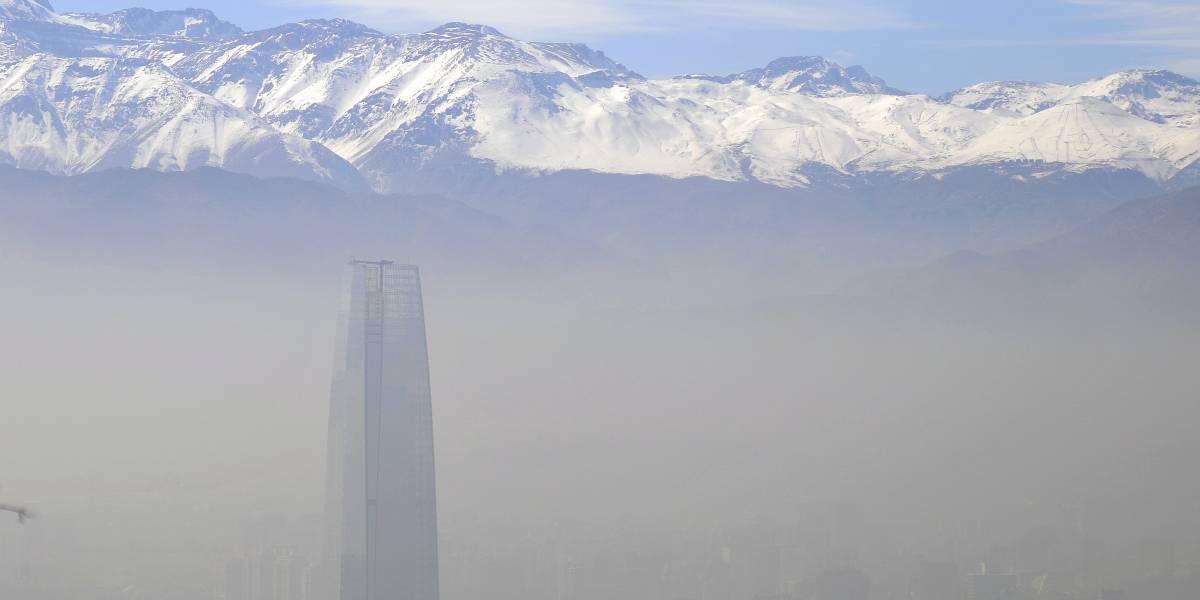 La Intendencia Metropolitana decretó alerta ambiental para el jueves 20