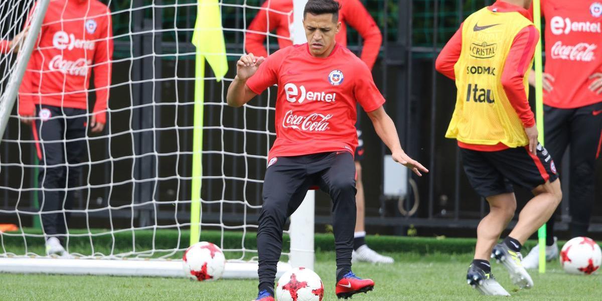 Alexis asoma como titular ante Alemania y Bravo se mantiene en duda en la Roja
