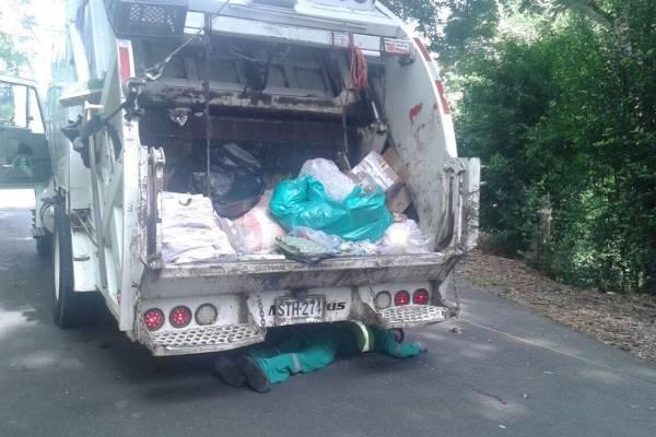 Carro de basura