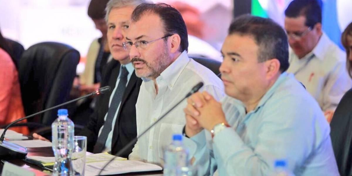 México no cambiará su postura del caso Venezuela: Luis Videgaray