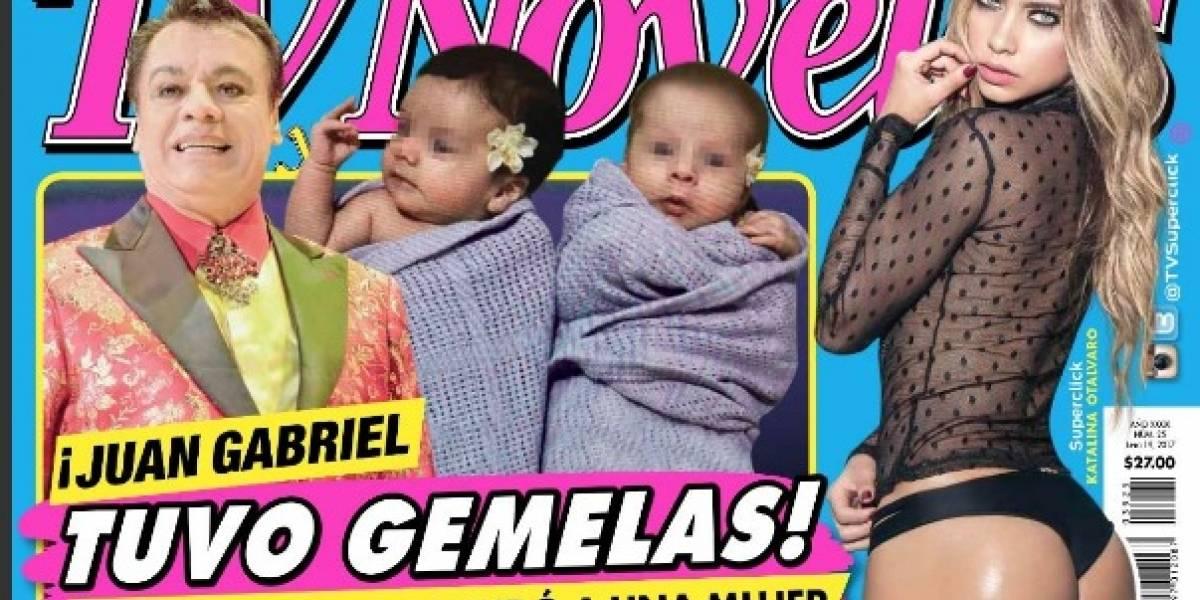 Revelan las primeras fotos de las supuestas gemelas que tuvo Juan Gabriel