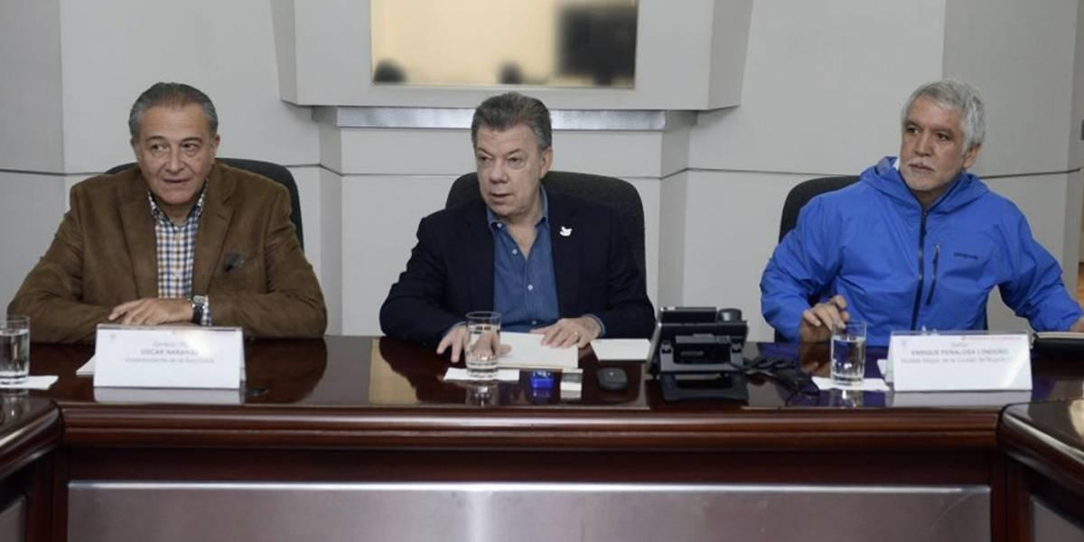 """Santos dice que investigaciones por atentado terrorista van por """"buen camino"""""""