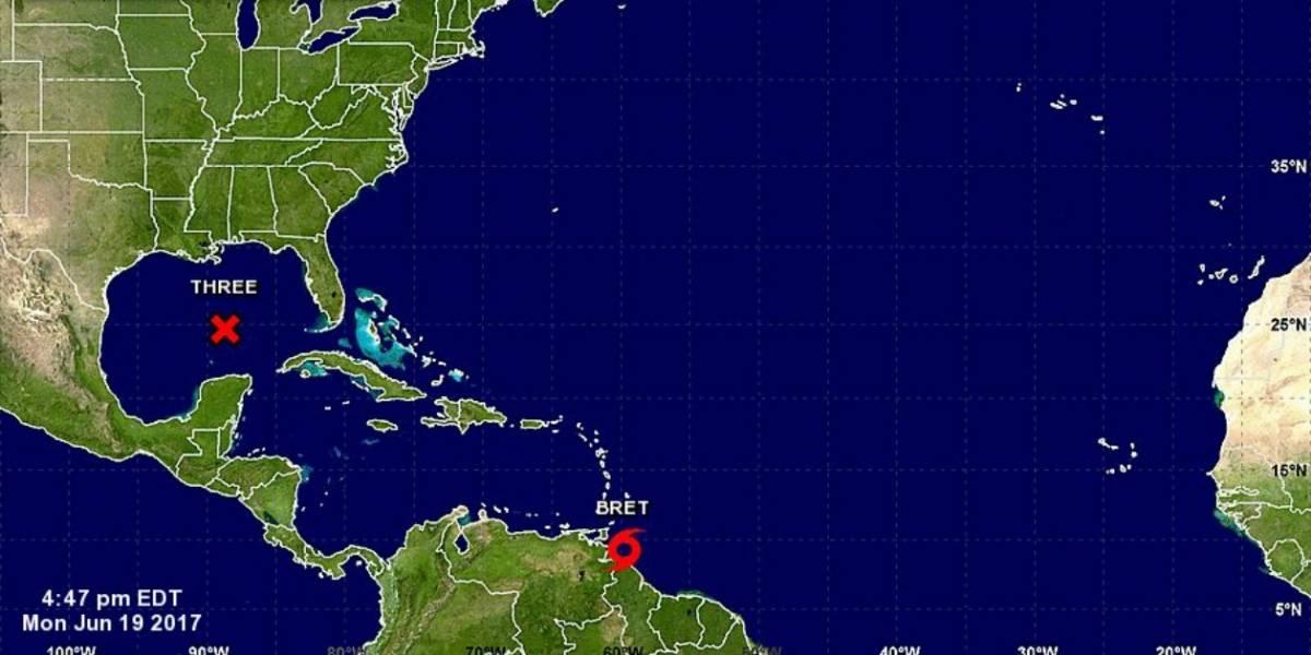 Alerta en Colombia por paso de la tormenta tropical Bret