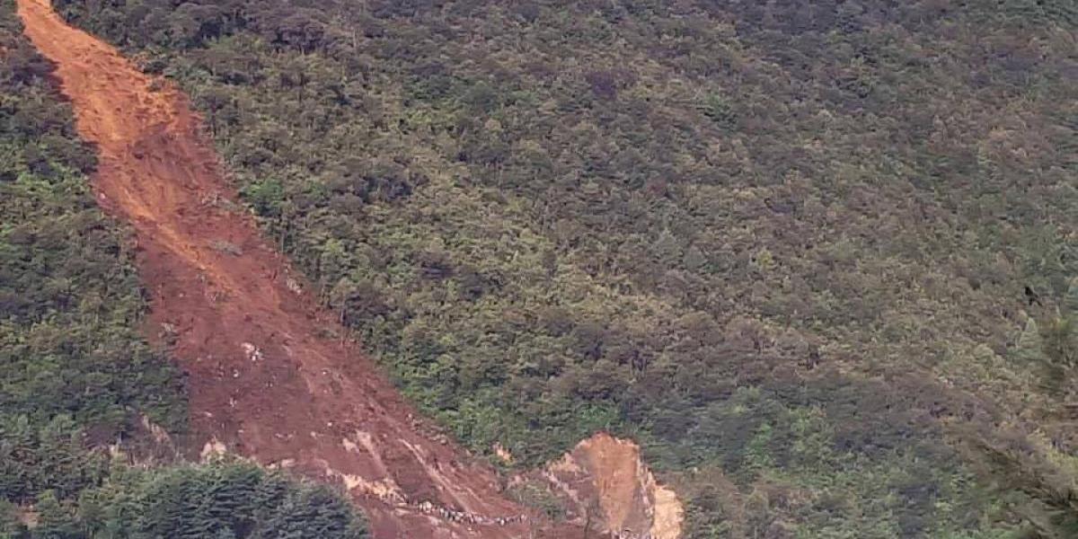 Once personas fallecen por deslizamiento en San Pedro Soloma, Huehuetenango