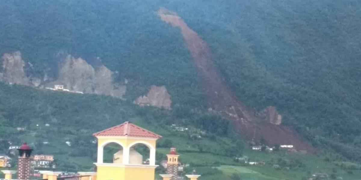Presidente expresa condolencias por víctimas de alud en Huehuetenango