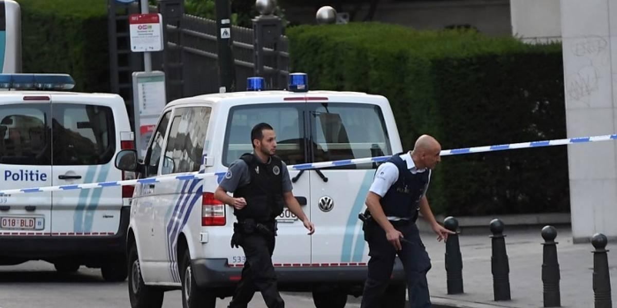 Reportan explosión en estación de trenes en Bruselas