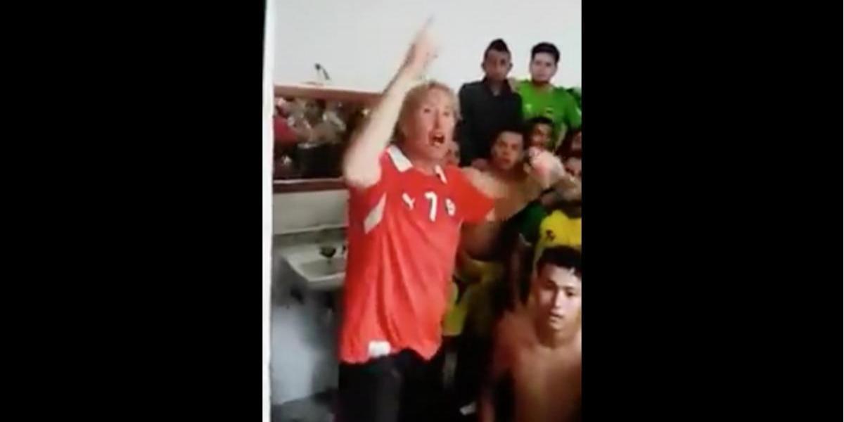 VIDEO. Festejo de Sololá en el camerino causa polémica en Facebook