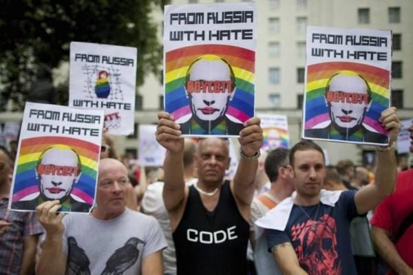 Homofobia en Rusia