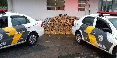 Polícia apreende caminhão com 680 kg de maconha na Imigrantes