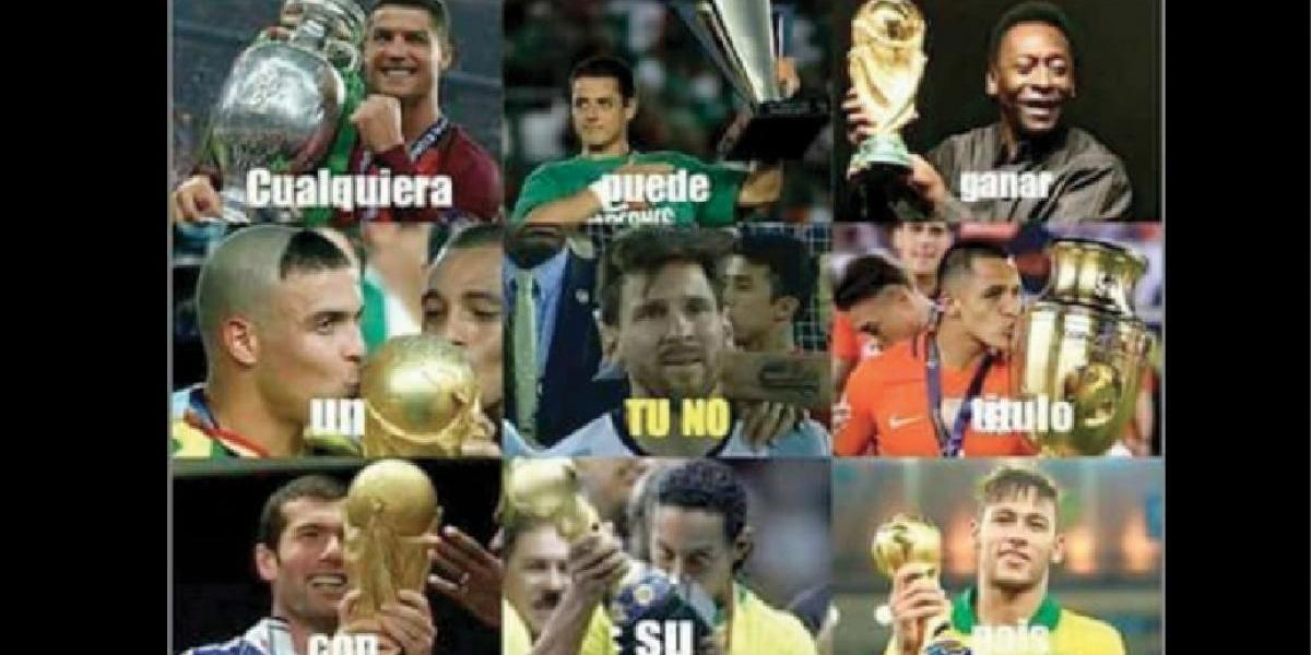 """""""Tú no"""" el nuevo viral llega al mundo del futbol"""