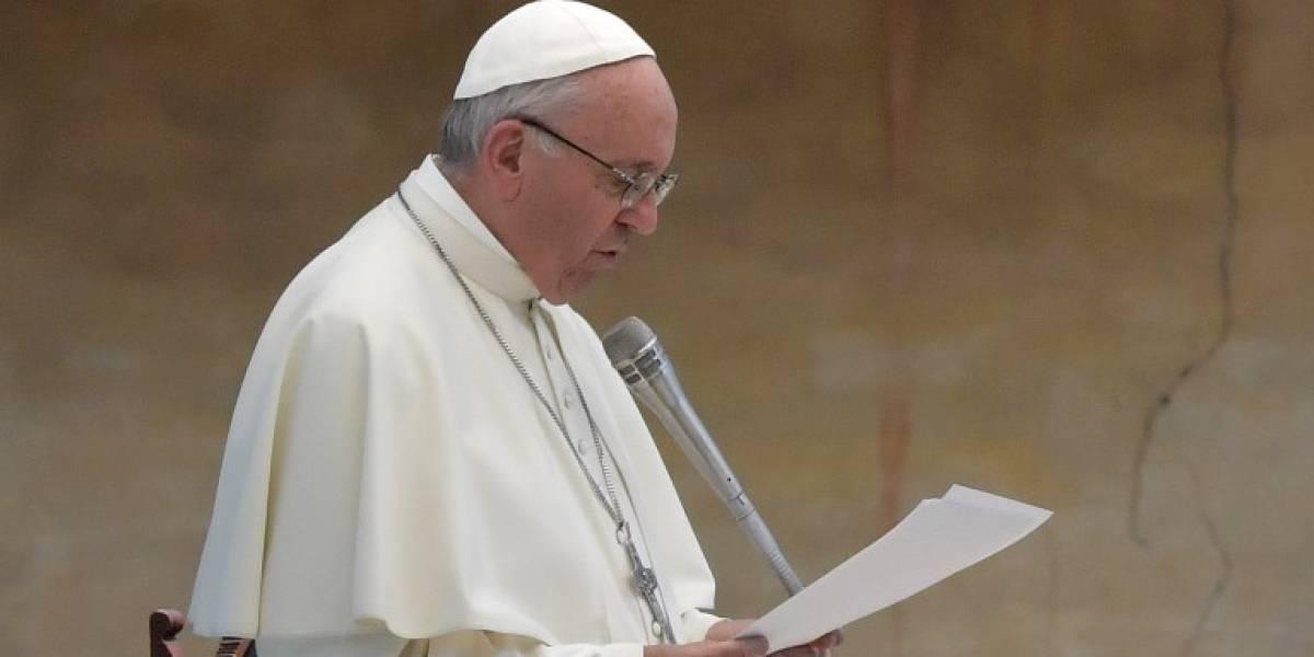 El papa Francisco, en peregrinaje en Italia