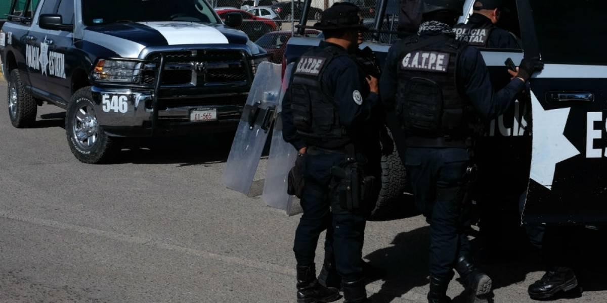 Reportan desaparición de tres policías en Zacatecas