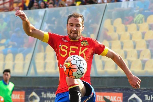 Nicolás Berardo jugó cinco años en Unión Espñola / Photosport